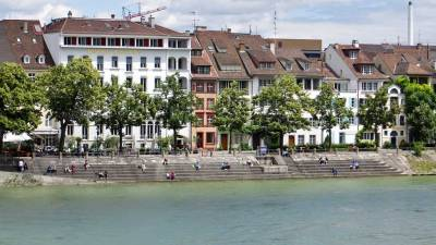 Kleinbasel, Rhine River Bank, Visit Basel