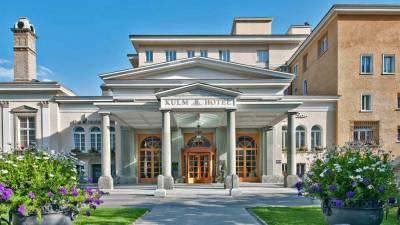 Kulm Hotel, Visit St Moritz