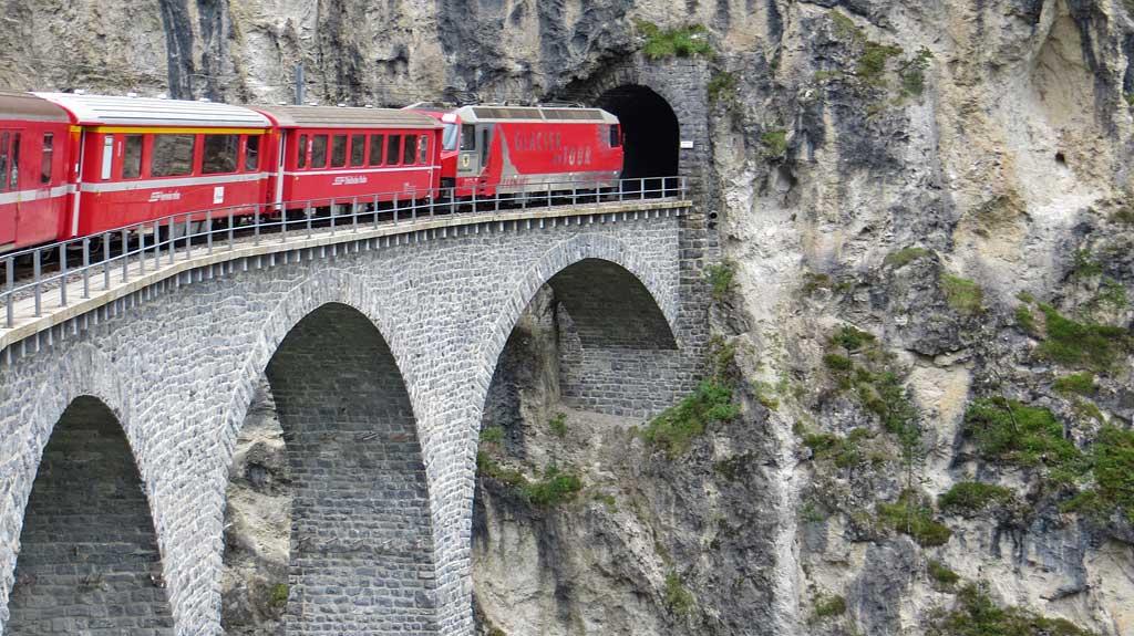 Landwasser Viaduct, Glacier Express, Visit St Moritz