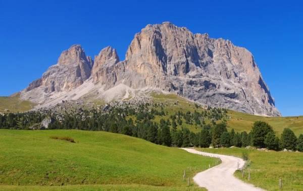 Langkofel or Sassolungo, Visit the Dolomites