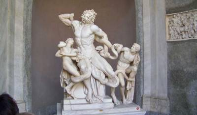 Laocoön and his Sons, Vatican Museums, Two Days in Rome