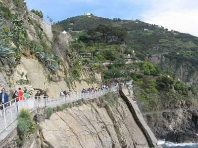 Lover's Walk Coastline Trail, Visit Cinque Terre
