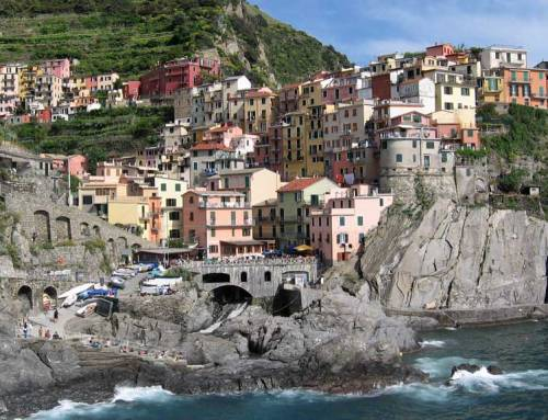 Five Cinque Terre Villages