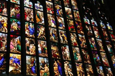 Milan Cathedral Stained Glass, Visit Milan