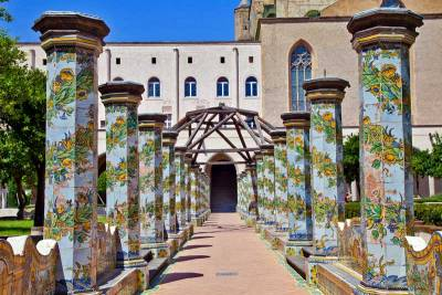 Monastery Santa Chiara, Visit Naples