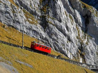 Mount Pilatus Cog Train, Visit Lucerne