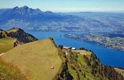 Mount Rigi view, Lake Lucerne, Visit Lucerne