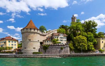 Musegg Wall, Reuss River, Visit Lucerne