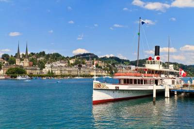 Paddle Steamer, Lake Lucerne, Visit Lucerne
