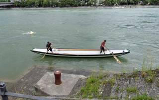 Weidling Boat, Rhine River, Visit Basel