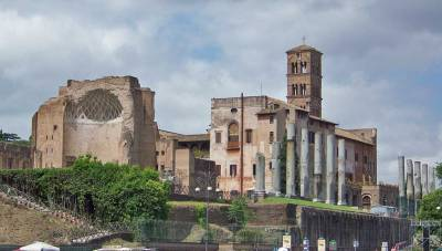 Palatine Hill, Two Days in Rome