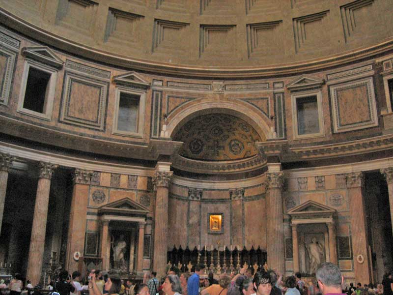 Pantheon, Two Days in Rome
