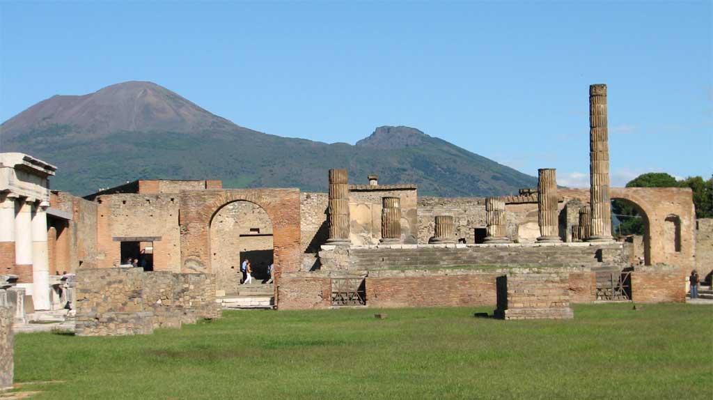 Temple of Neptune, Pompeii, Mount Vesuvius, Pompeii Day Trip
