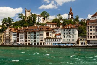 Reuss River, Musegg Wall, Visit Lucerne
