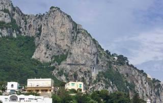 Road to Anacapri Cut into Mountain Side, Visit Capri