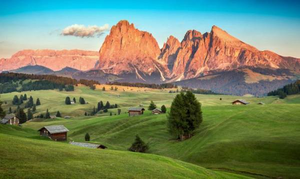 Sassolungo Group, Seiser Alm, Alpe di Siusi, Visit the Dolomites