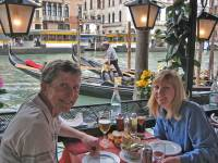 Seafood, Grand Canal, Venice Self Guided Tour, Italy