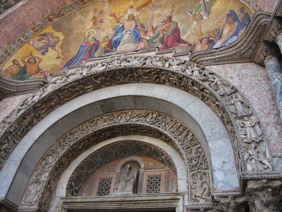 St Mark's Basilica Exterior, Venice Self Guided Tour, Italy