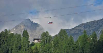 Cable car, gondola, Visit St Moritz