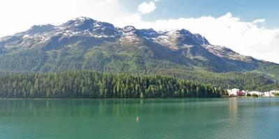 St Moritz Lake from the town, Visit St Moritz