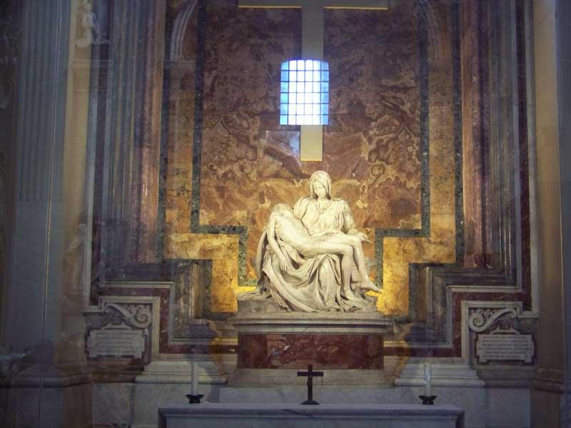 St Peter's, La Pieta by Michelangelo, Two Days in Rome