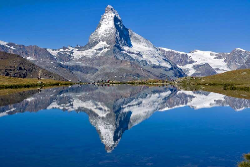 Stellissee, Matterhorn, Visit Zermatt, Switzerland