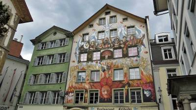 Sternenplatz, Old Quarter, Visit Lucerne