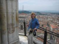Top of Florence Cathedral Dome, Florence Visit
