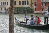 Traghetto Gondola Crossing Grand Canal, Venice Self Guided Tour, Italy