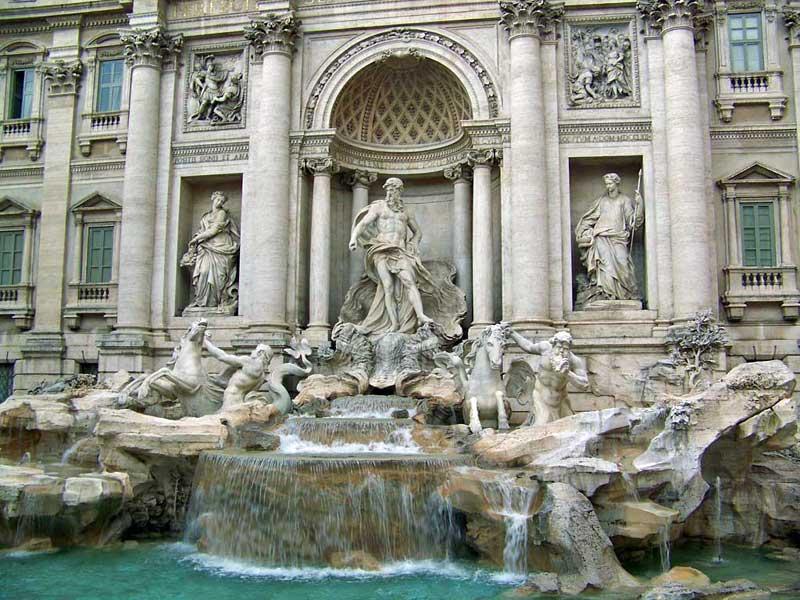 Trevi Fountain, Visit Rome