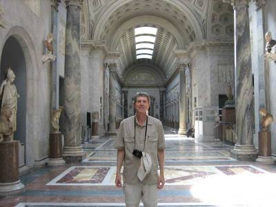 After Tour Groups Have Left, Vatican Museums, Two Days in Rome