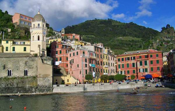 Vernazza Cathedral & Harbor, Visit Cinque Terre