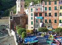 Vernazza Harbor, Five Cinque Terre Villages