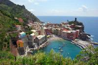 Vernazza view from Hillside, Visit Cinque Terre