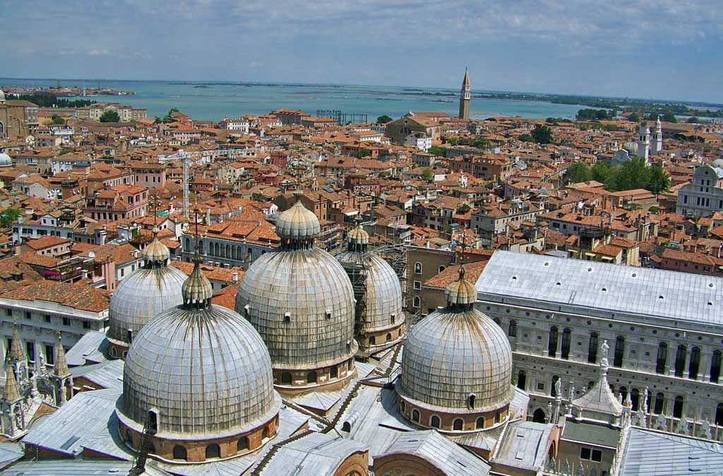 View from Campanile, Venice Self Guided Tour, Italy