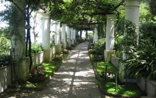 Gardens, Villa San Michele, Anacapri, Capri Self Guided Tour