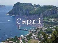 Visit Capri Title Page
