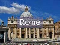 Visit Rome Title Page