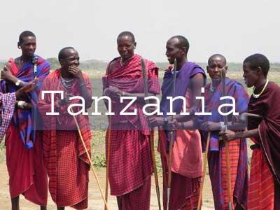 Visit Tanzania Title Page