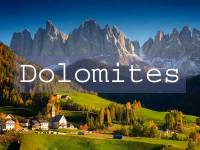 Visit the Dolomites Title Page