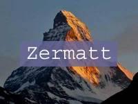 Visit Zermatt Title Page