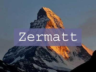 Visit Zermatt