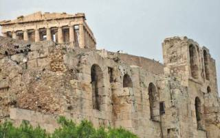 Acropolis and Pantheon, Athens Visit