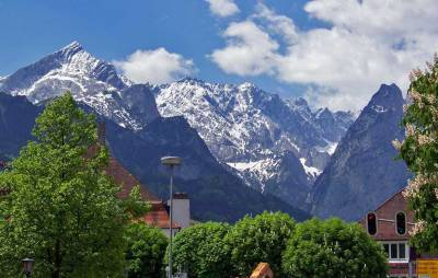 Alpine views from Garmisch-Partenkirchen