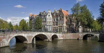 Amsterdam Canal Intersection, Visit Amsterdam