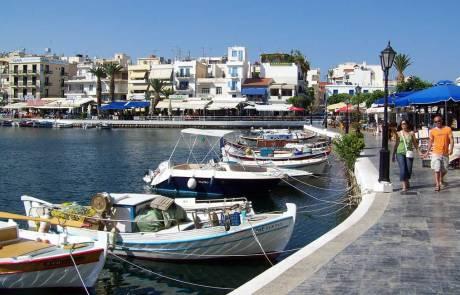 Boats, Lake Voulismeni, Agios Nikolaos Visit