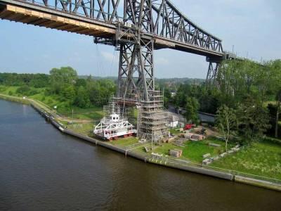 Bridge Ferry, Kiel Canal, Visit Kiel