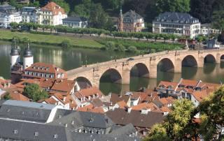 Bridge Gate and Old Bridge, Visit Heidelberg