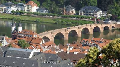 Bridge Gate and Old Bridge, Visit Heidelberg