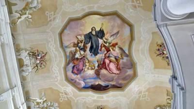 Ceiling Fresco, Melk Abbey, Visit Melk
